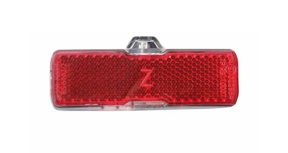 Busch + Müller Toplight Mini plus dynamo verlichting rood/zwart
